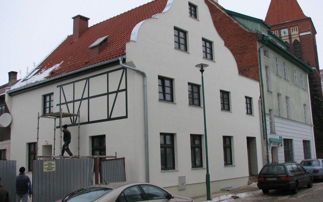 Kamienica mieszkalno-biurowa w zabytkowej strefie Pasłęka