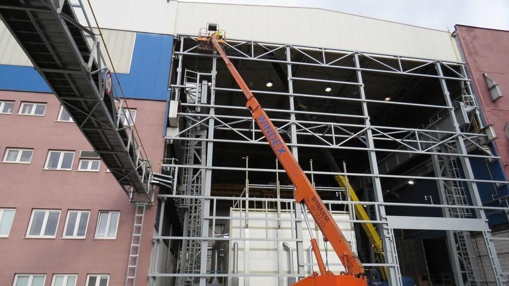 Projekt budowlany nowej hali Zakładu Metalurgicznego GE Power w Elblągu