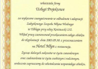 Referencje-Mlyn